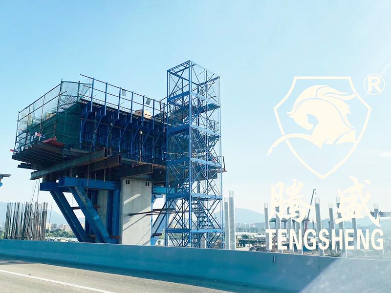 上海模块化角钢梯笼