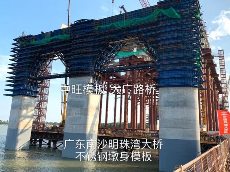 广东南沙明珠湾大桥现场图片