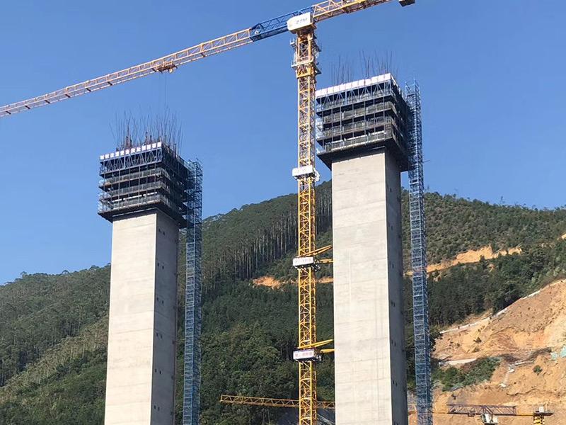 大广路桥现场图片
