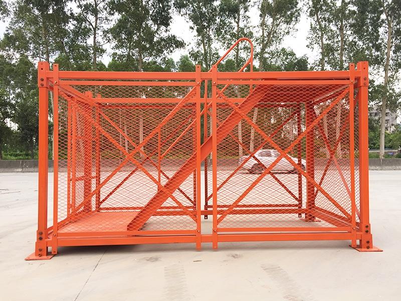 贵州方钢梯笼